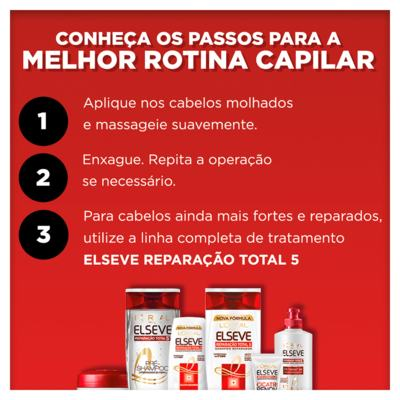 Imagem 4 do produto Kit Shampoo + Condicionador + Tratamento L'Oréal Paris Elseve Reparação Total 5+ - Kit