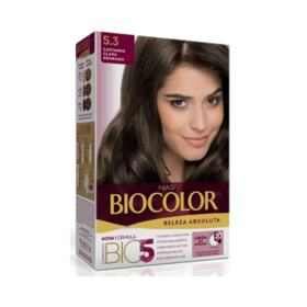 Tinta de Cabelo Biocolor - 5.3 Castanho Claro Dourado   125g