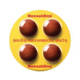 Neosaldina - 4 drágeas