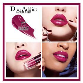 Batom Líquido Dior - Addict Lacquer Plump - 777 Diorly