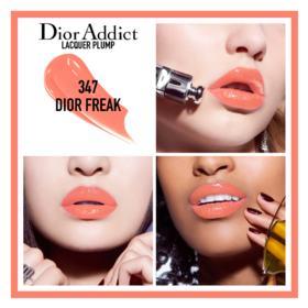 Batom Líquido Dior - Addict Lacquer Plump - 347 Dior Freak
