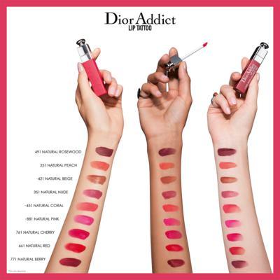 Imagem 4 do produto Batom Dior - Addict Lip Tattoo - 491 - Natural Rosewood