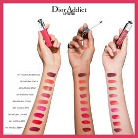 Batom Dior - Addict Lip Tattoo - 491 - Natural Rosewood