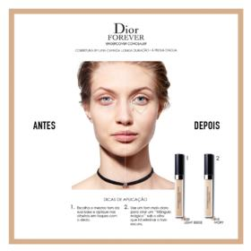 Corretivo Facial - Diorskin Forever Undercover - 010 - Ivory