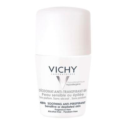 Imagem 3 do produto Desodorante 48H Vichy - Desodorante Roll-On para Peles Muito Sensíveis ou Depiladas - 50ml
