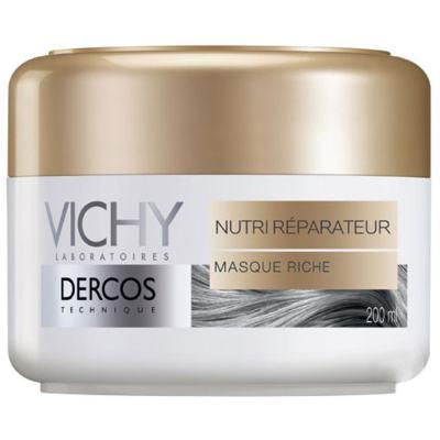 Imagem 8 do produto Vichy Dercos Nutri Reparador Mascara - Vichy Dercos Nutri Reparador Mascara 200ml