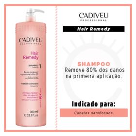 Cadiveu Hair Remedy - Shampoo - 980ml