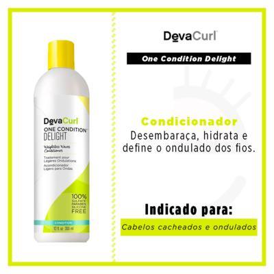 Imagem 3 do produto Deva Curl One Condition Delight Condicionador - 355ml