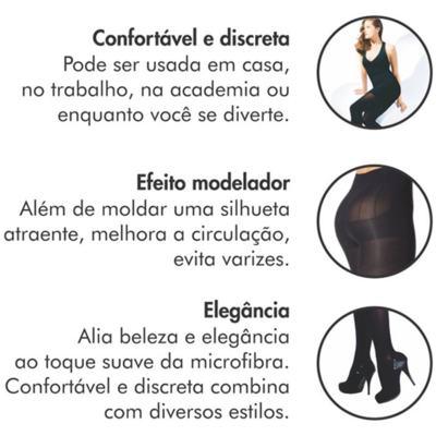 Imagem 7 do produto Meia Calça Sculptor Anti Celulite AT 151A 15-20 Mmhg com Ponteira Fechada Sigvaris - Meia Calça Sculptor Anti Celulite AT 151A 15-20 Mmhg com Ponteira Fechada Sigvaris Normal Preta Grande