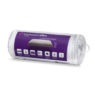 Imagem 1 do produto Travesseiro Latexlux Slim em Látex Copespuma Theva