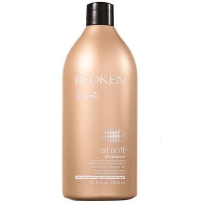 Imagem 4 do produto Redken All Soft Shampoo - Redken All Soft Shampoo 1000ml