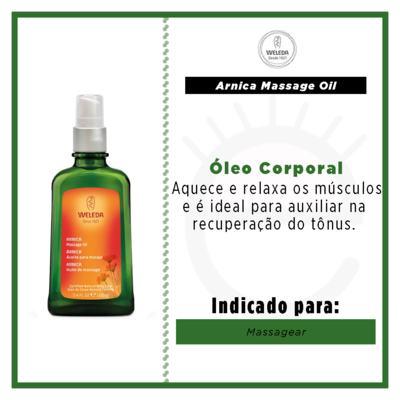Imagem 2 do produto Óleo para Massagem com Arnica Weleda - Óleo Corporal - 100ml