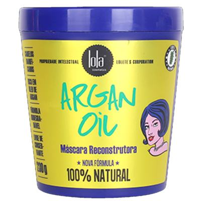 Imagem 1 do produto Lola Cosmetics Argan Oil - Máscara de Reconstrução - 230g