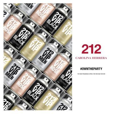 Imagem 5 do produto 212 Vip Carolina Herrera - Body Spray - 250ml