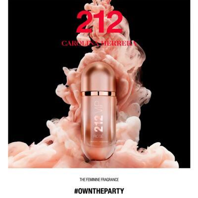 Imagem 4 do produto 212 VIP Rosé Carolina Herrera - Perfume Feminino - Eau de Parfum - 50ml