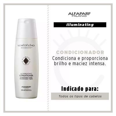 Imagem 4 do produto Alfaparf Illuminating Conditioner - Condicionador Iluminador - 250ml