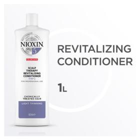 Nioxin Scalp Therapy Sistema 5 Tamanho Profissional - Condicionador Revitalizante - 1L