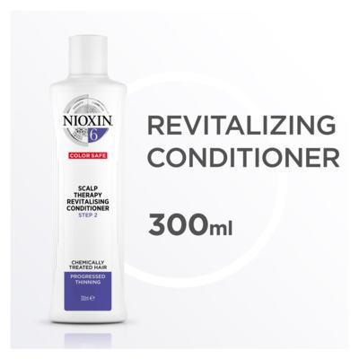 Imagem 4 do produto Nioxin Scalp Therapy Sistema 6 - Condicionador Revitalizante - 300ml