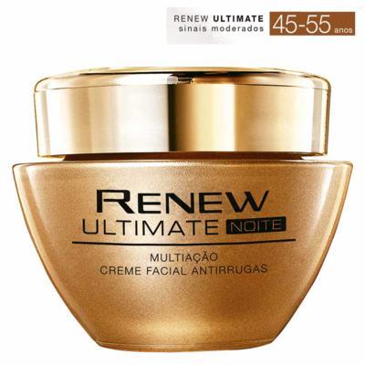 Imagem 1 do produto Creme Facial Antirrugas Renew Ultimate Multiação | Noite