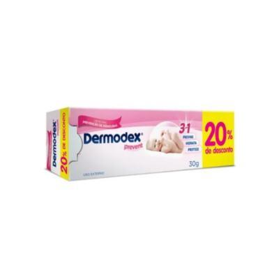 Imagem 2 do produto Creme Preventivo Assaduras Dermodex Prevent 30g -