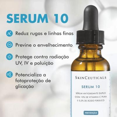 Imagem 9 do produto Serum 10 SkinCeuticals - Rejuvenescedor Facial - 15ml