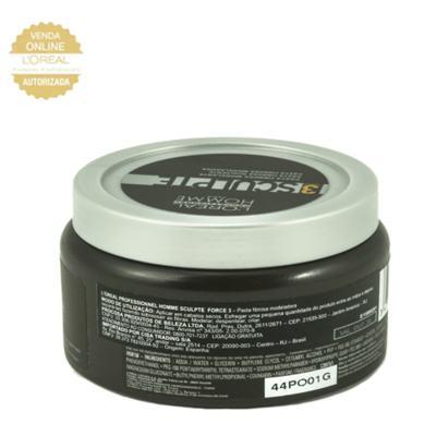 Imagem 3 do produto L'Oréal Professionnel Homme Sculpte Force 3 - Pasta Modeladora - 150ml
