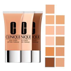 Stay-Matte Oil-Free Makeup Clinique - Base Facial - Vanilla