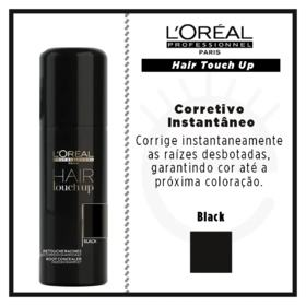 L'Oréal Professionnel Hair Touch Up - Corretivo Instantâneo - Black