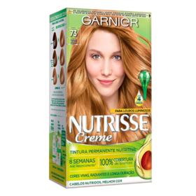 Coloração Garnier Nutrisse Creme - 73 Louro Natural Dourado | 1 unidade