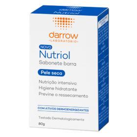NUTRIOL SABONETE BARRA HIDRATANTE PELE SECA 80 G x 1