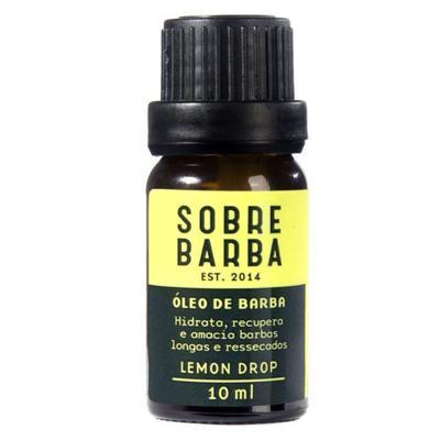 Óleo para Barba Sobrebarba - Lemon Drop - 10ml