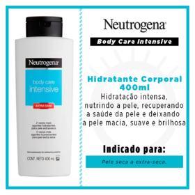 Hidratante Corporal Neutrogena Body Care - Intensive Extra Seca | 400ml