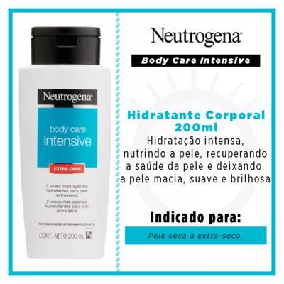 Imagem 12 do produto Hidratante Corporal Neutrogena Body Care Intensive Extra Care - 200ml
