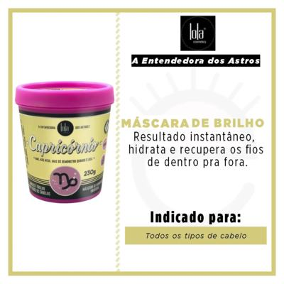 Imagem 2 do produto Lola Cosmetics A Entendedora dos Astros Capricórnio - Máscara de Hidratação Universal - 230g