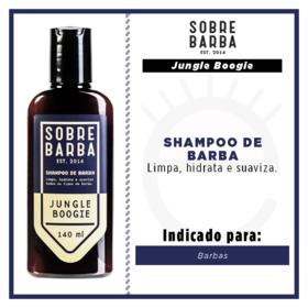Jungle Boogie Sobrebarba - Shampoo para Barba