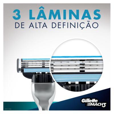 Imagem 13 do produto Aparelho de Barbear Mach3 Gillette - 1 Un