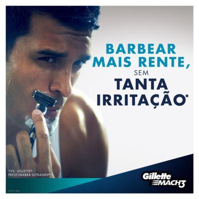 Imagem 14 do produto Aparelho de Barbear Mach3 Gillette - 1 Un