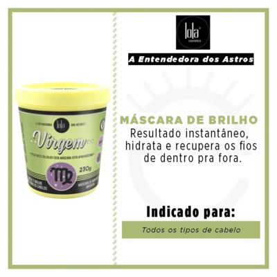 Imagem 2 do produto Lola Cosmetics A Entendedora dos Astros Virgem - Máscara de Hidratação Universal - 230g