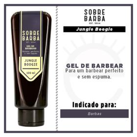 Gel de Barbear Sobrebarba - Jungle Boggie