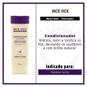 Nick & Vick Nutri-Hair Clareador - Condicionador - 300ml