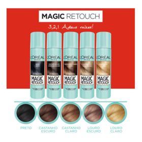 Retoque de Raiz  Spray Instantâneo Magic Retouch - Louro Claro   75ml