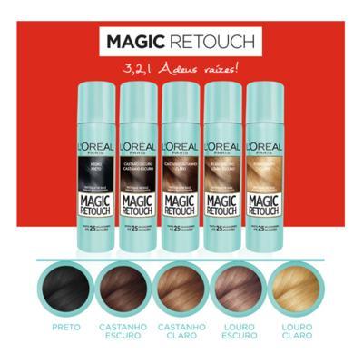 Imagem 10 do produto Corretivo  Instantâneo L'Oréal Paris - Magic Retouch - Louro escuro