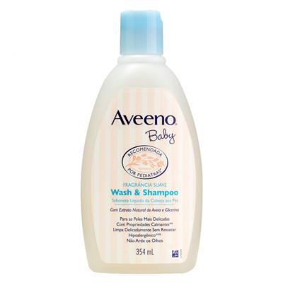 Imagem 1 do produto Sabonete Líquido da Cabeça aos Pés - Aveeno Baby - 354ml