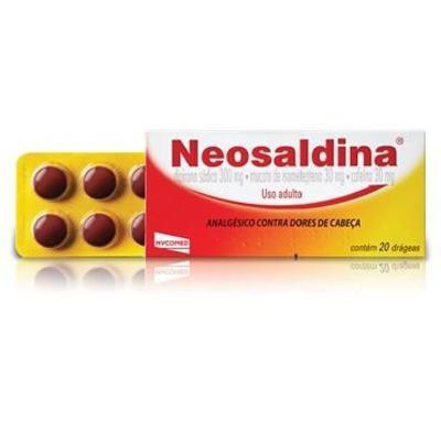 Imagem 2 do produto Neosaldina 20 comprimidos - 20 comprimidos