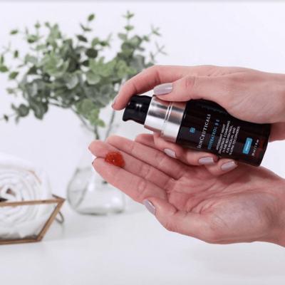 Imagem 11 do produto Resveratrol B E Antioxidante Night SkinCeuticals - Antienvelhecimento Noturno - 30ml