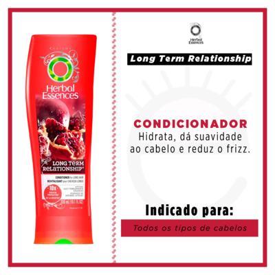 Imagem 2 do produto Herbal Essences Long Term Relationship - Condicionador - 300ml