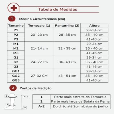 Imagem 3 do produto Meia Panturrilha 20-30 Select Comfort Premium Sigvaris - Longa Natural Ponteira Fechada P