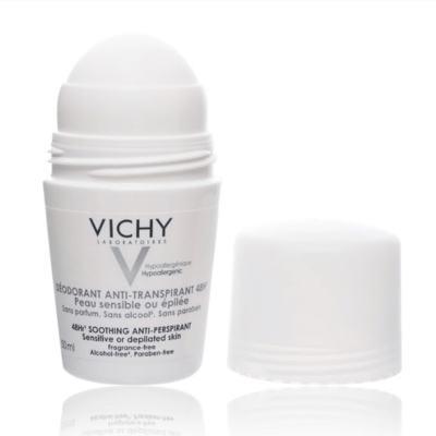 Imagem 7 do produto Desodorante 48H Vichy - Desodorante Roll-On para Peles Muito Sensíveis ou Depiladas - 50ml