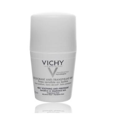 Imagem 9 do produto Desodorante 48H Vichy - Desodorante Roll-On para Peles Muito Sensíveis ou Depiladas - 50ml
