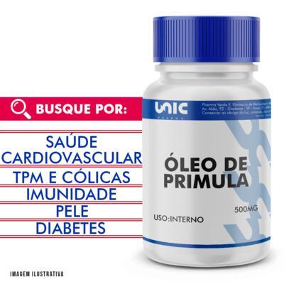 Imagem 1 do produto Óleo de primula 500mg - 120 Cápsulas